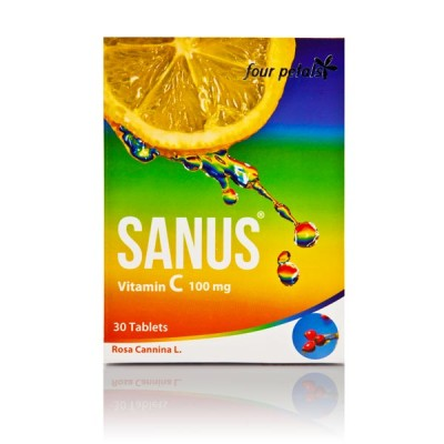 Sanus Vitamin C 100mg